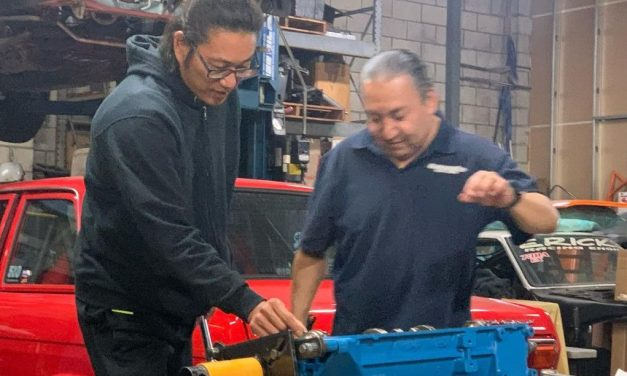 Sung Kang's 240Z DocZ Gets New Pistons And Rods
