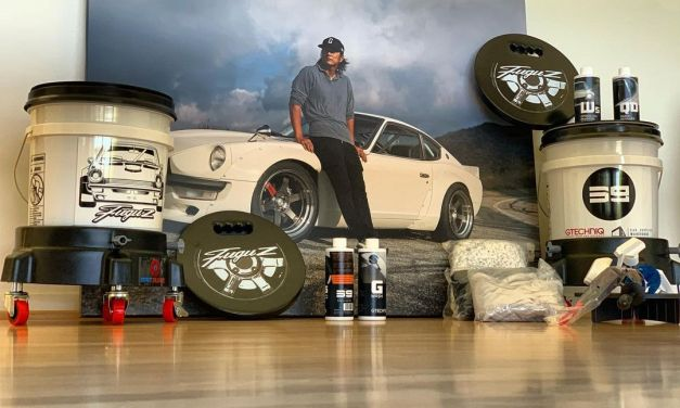 Watch Sung Kang Use New FuguZ Detail Kit To Wash His Mercedes