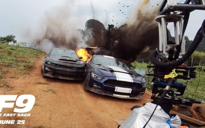 Fast & Furious 9: Watch The Behind The Scenes Of Vehicular Warfare