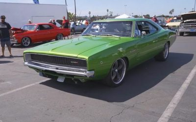 This '68 Charger Has A V10 Viper Engine And Over 500 Horsepower
