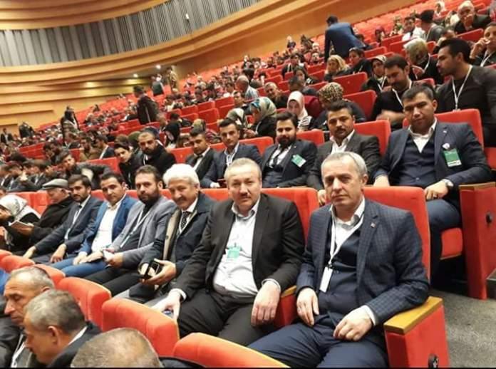 Ak Parti İlçe Başkanı İlyas Özkan, Gençlik Kolları Başkanı Ramazan Sarıtepeci ve yönetim kurulu üyeleri Dünya İnsan Hakları Günü etkinliğine katıldılar.