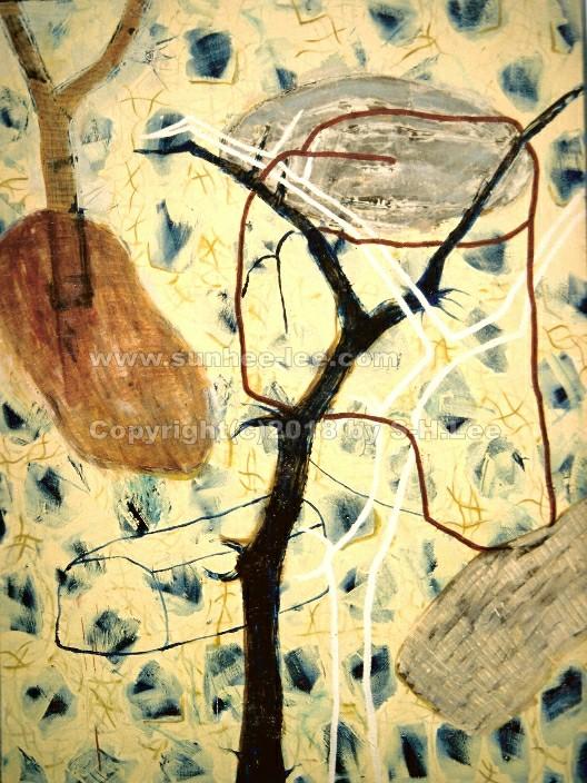 huile sur toile, 1995