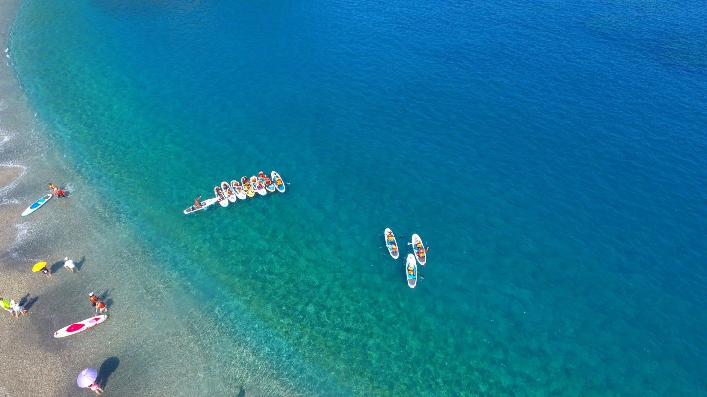 SUP立槳衝浪 賊仔澳七彩石秘密海灘 | 蘇澳海派生活!