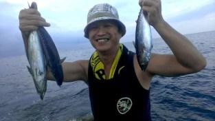 老漁船海釣