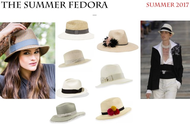 001281267e052 The Fedora usually makes an appearance in the fall but designers are having  a love affair with this hat right now and have reinvented it in straw for  the ...
