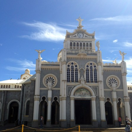 Basilica of our Lady of the Angels in Cartago, Costa Rica