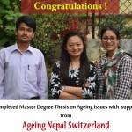Ageing Research Fellowship 2016 Winner