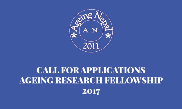 Ageing Research Fellowship 2017: Call for Applications