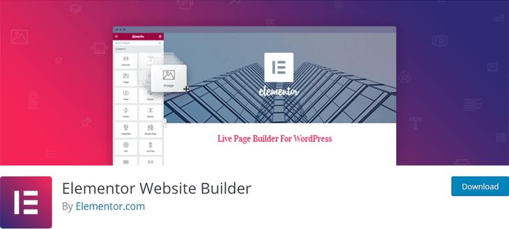 Elementor Free WordPress Page Builder Plugin