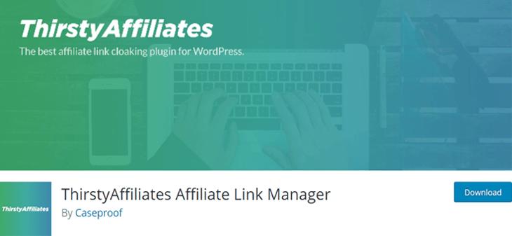 ThirstyAffiliates Affiliate Marketing WordPress Plugin Free