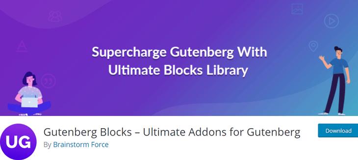 Ultimate Addons for Gutenberg Free Gutenberg Plugin
