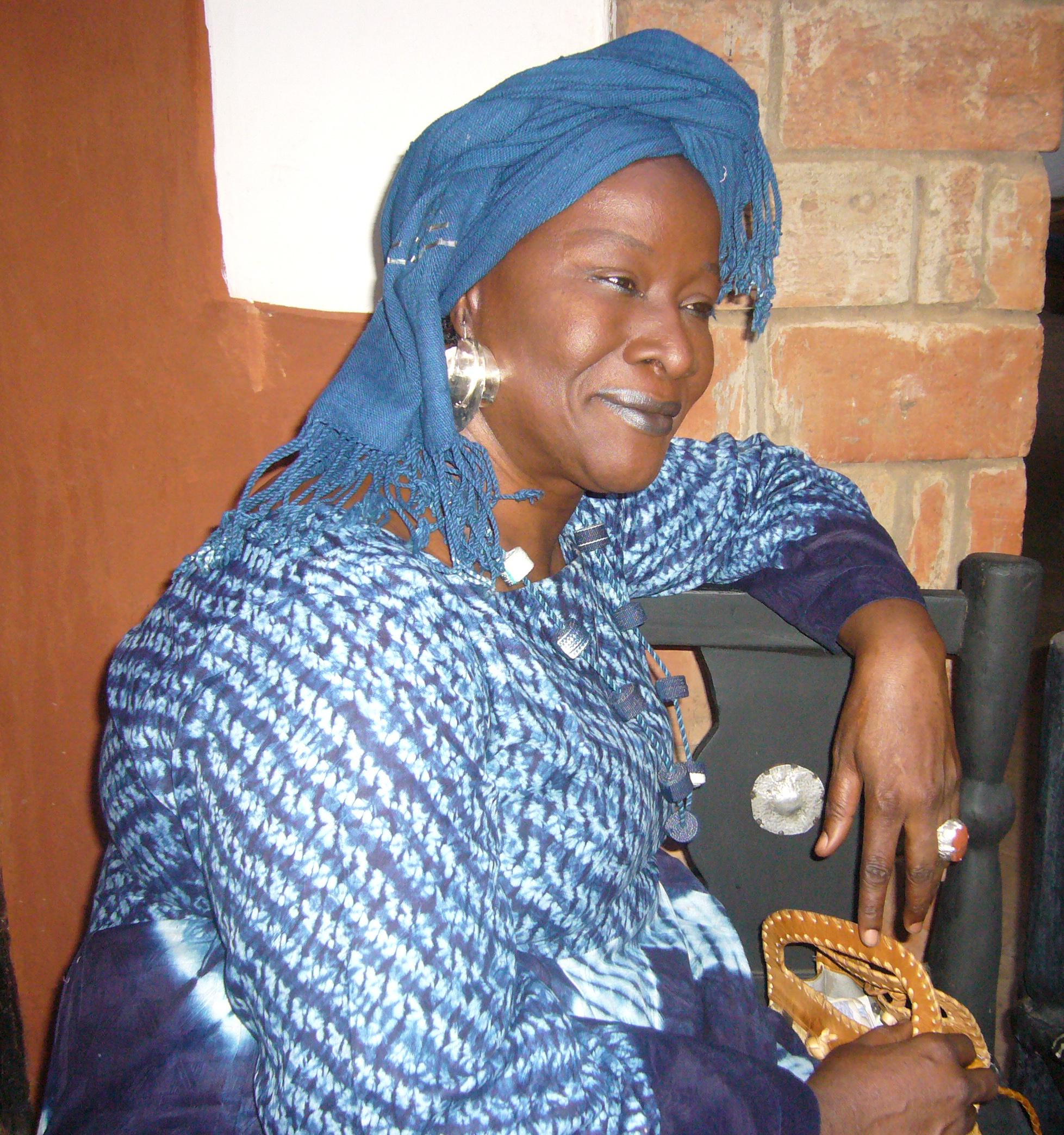 Aminata Traoré ancienne ministre de la culture
