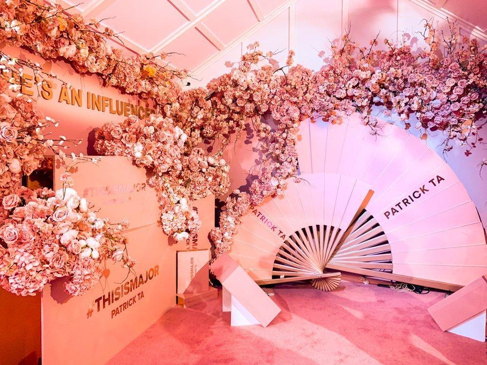 Patrick Ta at Sephoria House of Beauty event 2019
