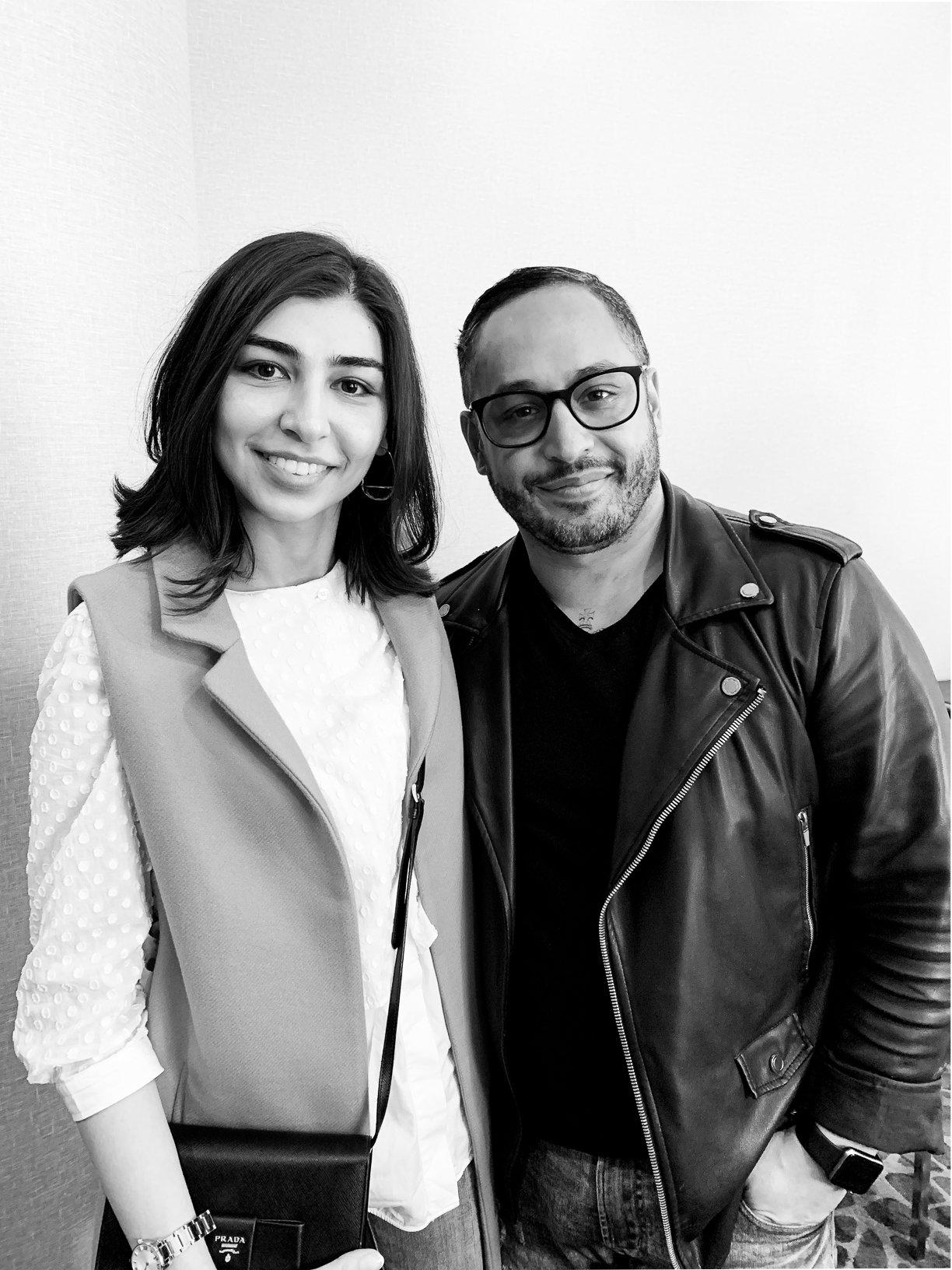 Farah Gasimzade and Orlando Santiago