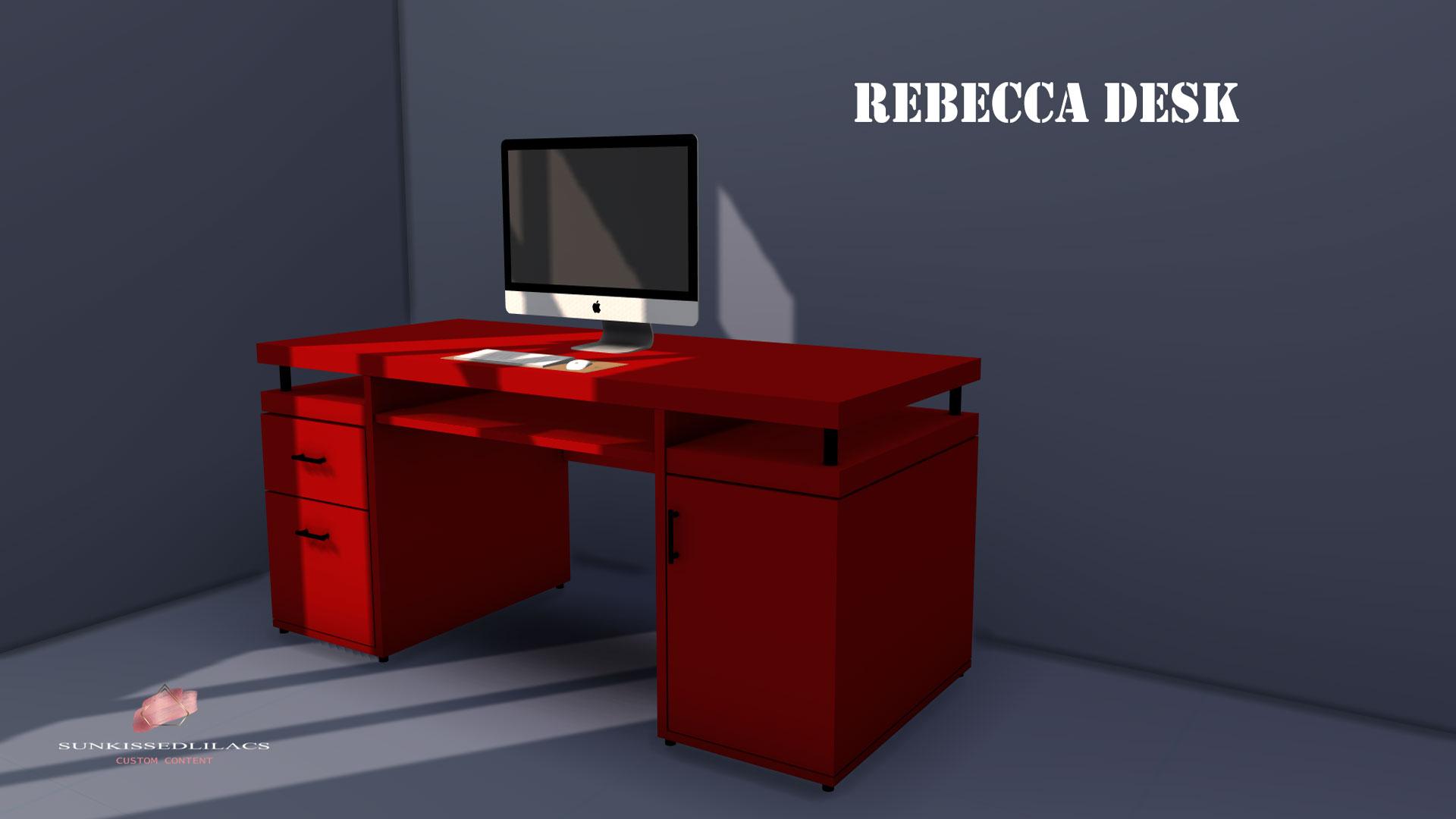 Rebecca desk-sunkissedlilacs-simms-4-custom-content