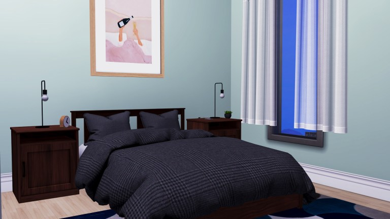 Ikea Songesand Bedroom, high quality sims 4 cc, sunkissedlilacs, free sims 4 furniture, sims 4 custom content,