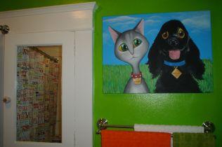g. our bathroom