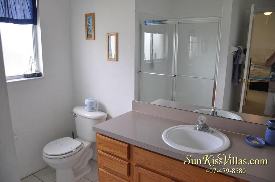 Orlando Vacation Rental - Disney Fun - Bathroom