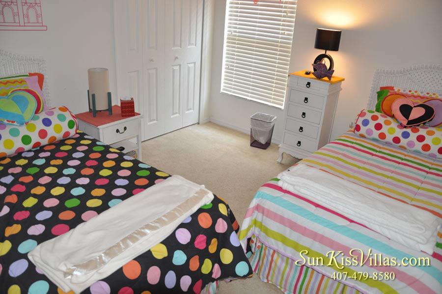 Solana Resort Vacation Rental Near Disney - Disney Gem - Twin Bedroom