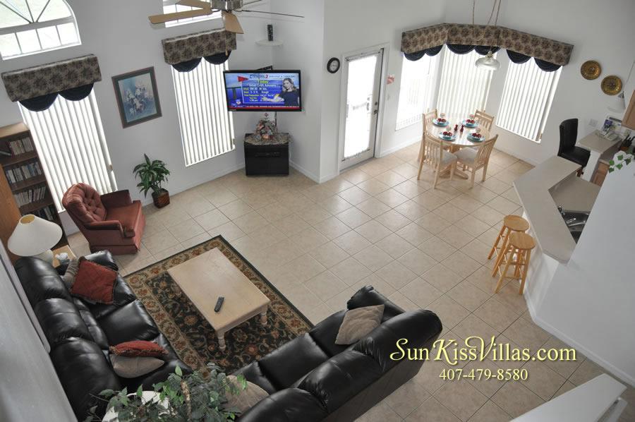 Disney Vacation Home Rental - Disney Palms - Family Room