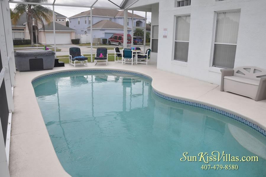 Disney Vacation Home Rental - Disney Palms - Pool