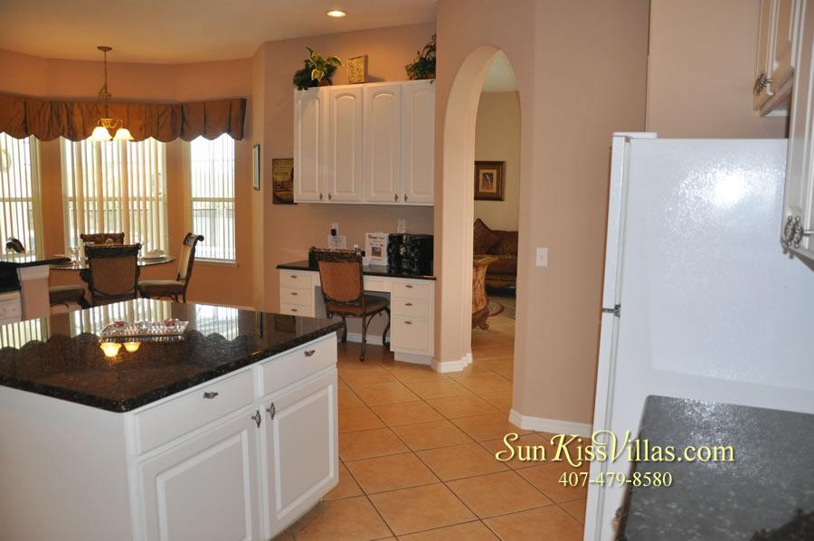Orlando Disney Vacation Home Rental - Grand Hereon - Kitchen