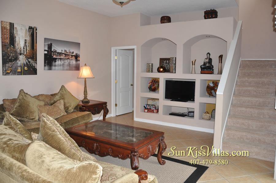 Orlando Disney Vacation Home Rental - Grand Hereon - Family Room