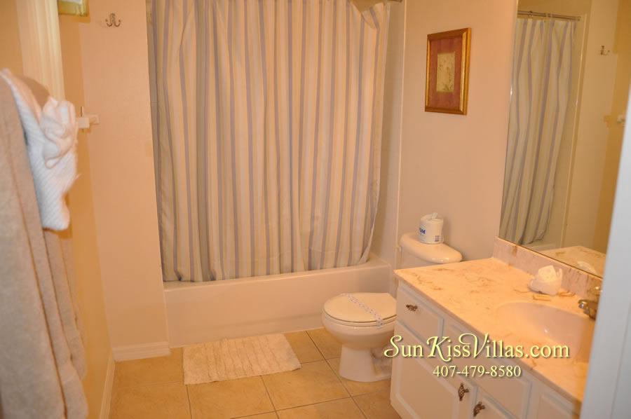 Orlando Disney Vacation Home Rental - Grand Hereon - Bathroom