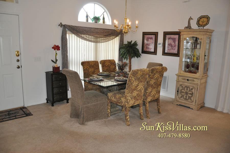 Orlando Disney Vacation Rental Home - Grand Oasis - Dining