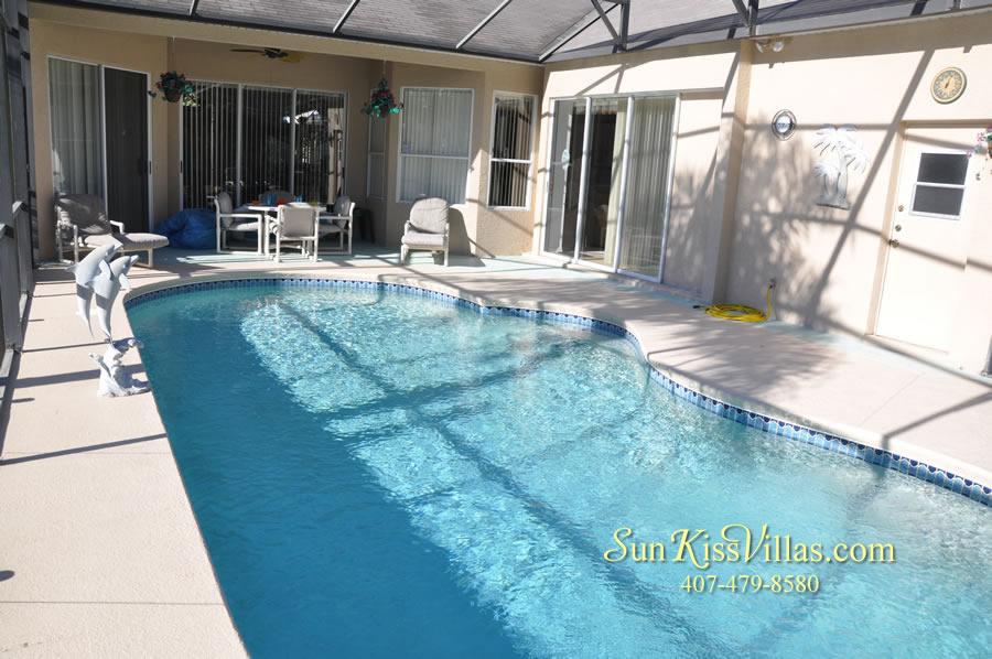 Orlando Disney Vacation Rental Home - Grand Oasis - Pool