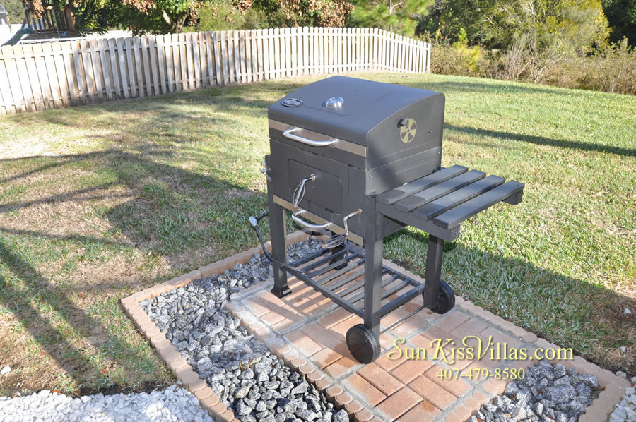 Orlando Disney Vacation Rental Home - Grand Oasis - BBQ