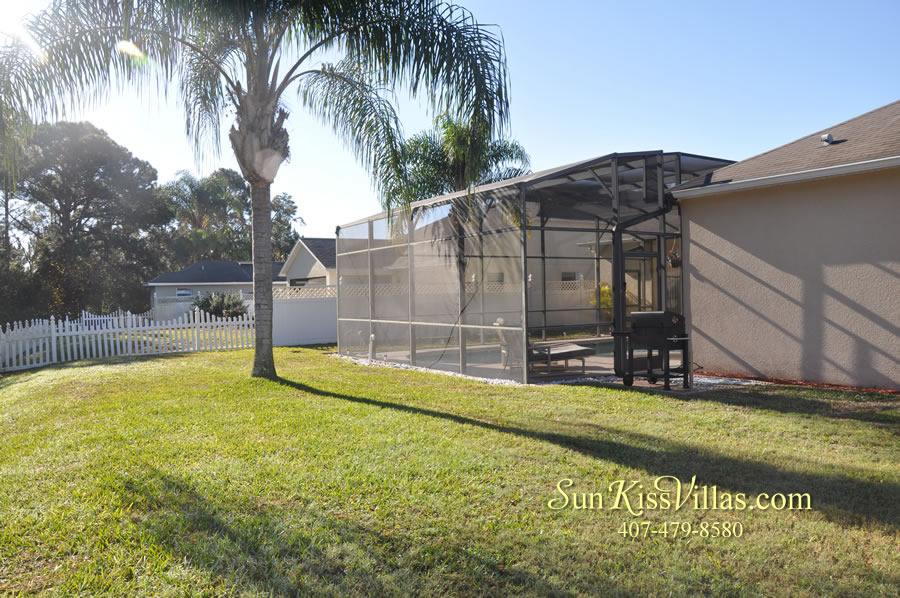 Orlando Disney Vacation Rental Home - Grand Oasis - Back Yard