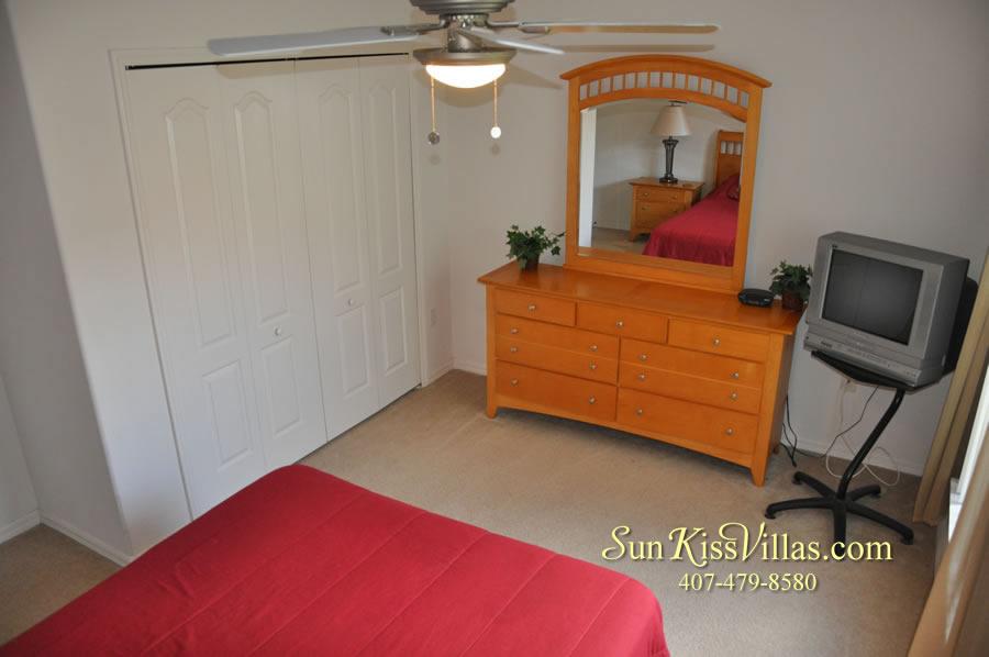 Orlando Disney Villa Rental - Grand Palms - Bedroom