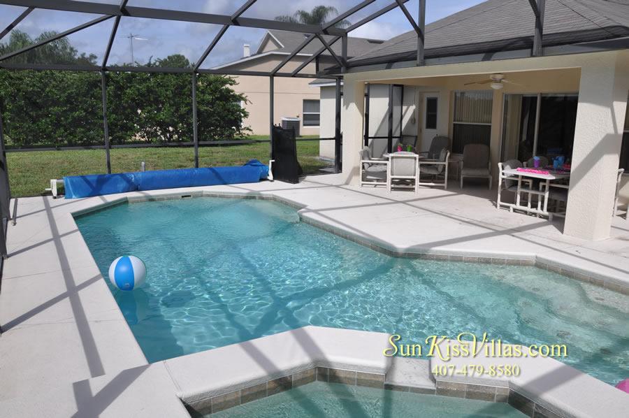 Orlando Disney Villa Rental - Grand Palms - Pool and Spa