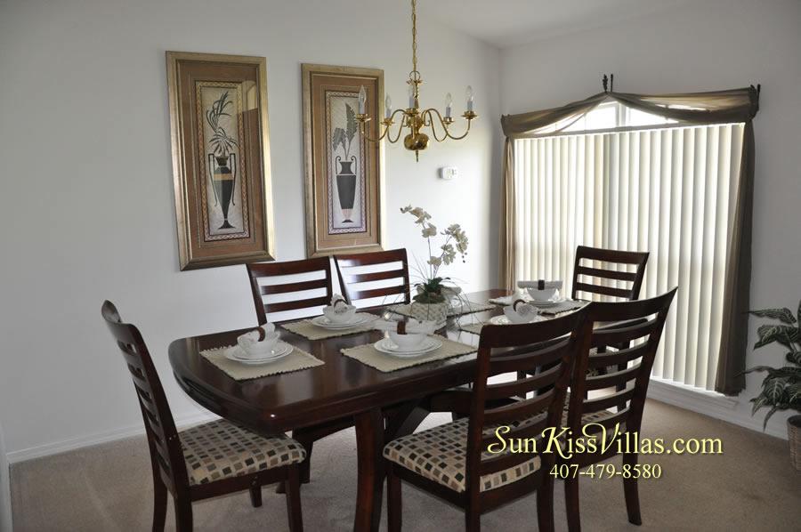Orlando Disney Villa Rental - Grand Palms - Dining