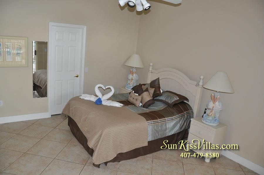 Orlando Villa Rental Near Disney - Keystone - Bedroom