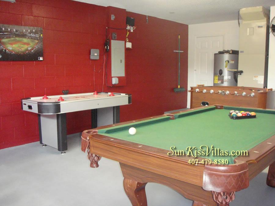 Orlando Villa Rental Near Disney - Keystone - Game Room