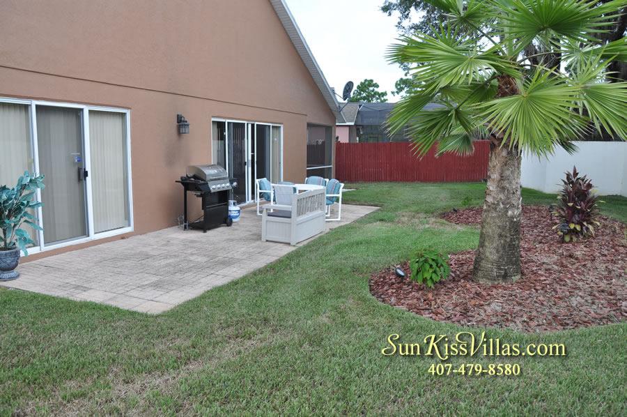 Orlando Villa Rental Near Disney - Keystone - Patio