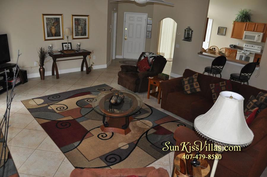Orlando Villa Rental Near Disney - Keystone - Family Room