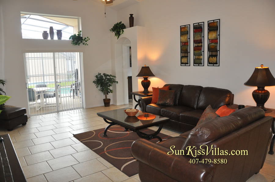 Disney Solana Vacation Rental Home - Mermaid Point - Family Room