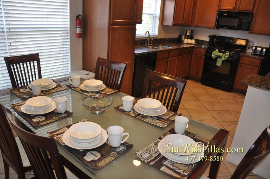 Disney Solana Vacation Rental Home - Mermaid Point - Breakfast and Kitchen