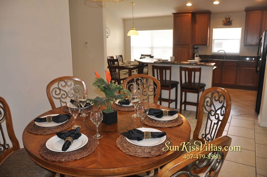 Disney Solana Vacation Rental Home - Mermaid Point - Dining