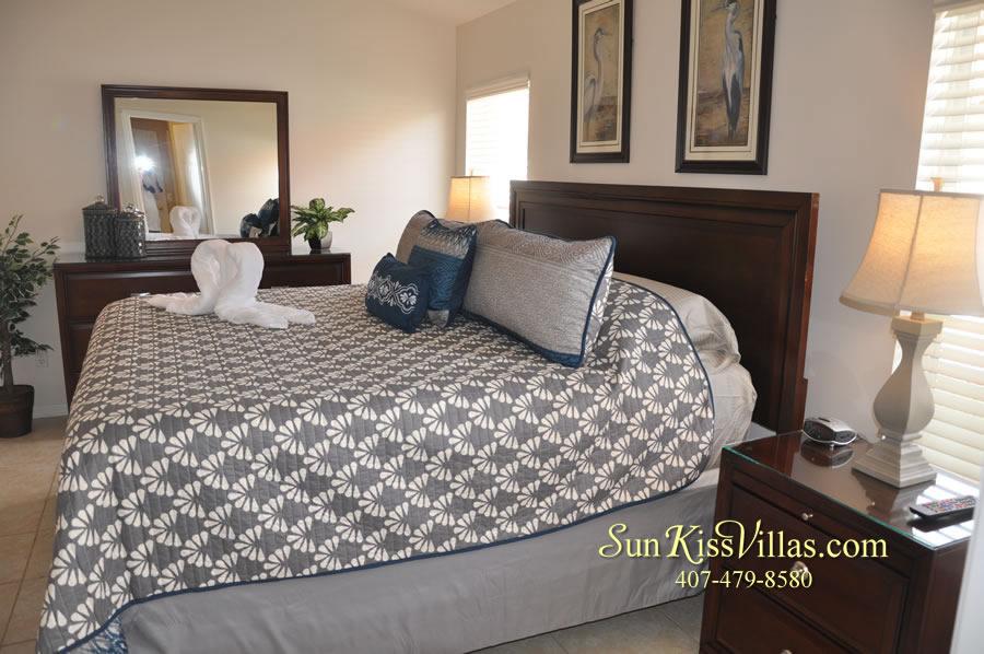 Disney Solana Vacation Rental Home - Mermaid Point - Bedroom