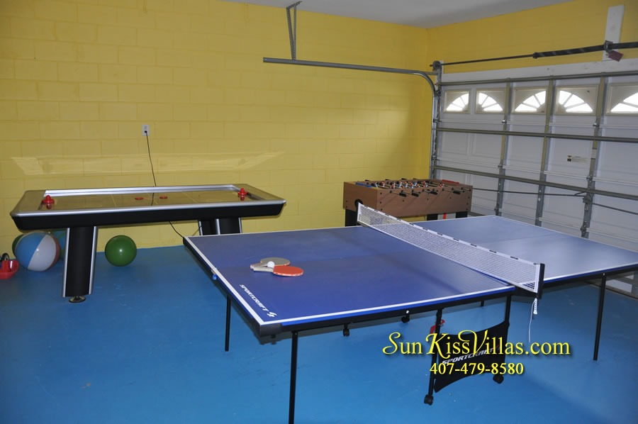 Disney Vacation Rental Home - Mickey's Cottage - Game Room