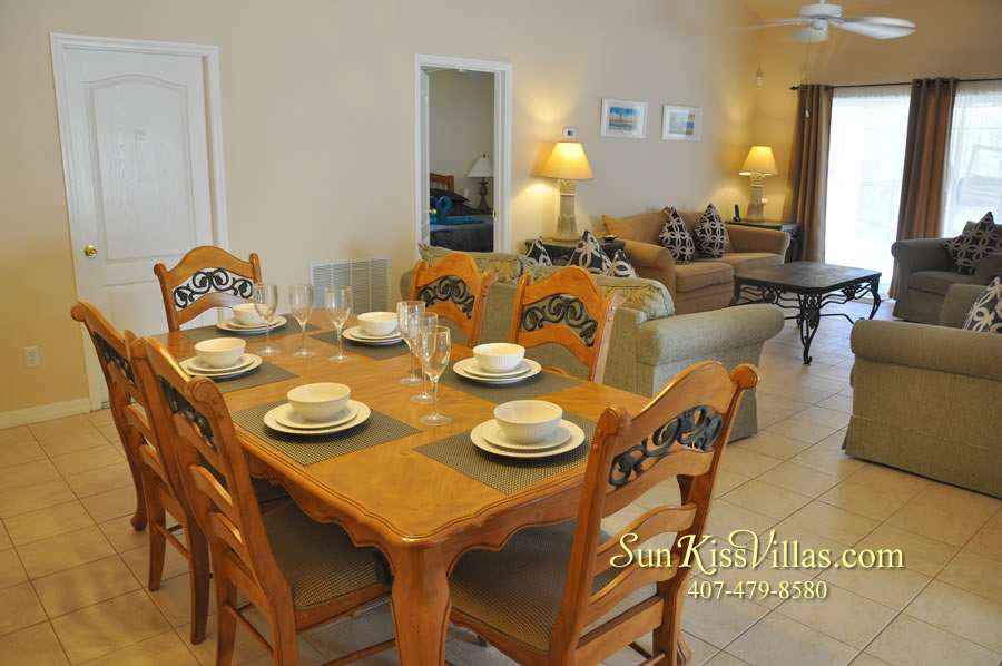 Vacation Villa Near Disney - Misty Cay - Dining