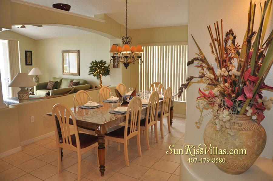 Orlando Vacation Rental - Palm Lake - Dining