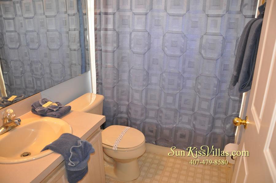 Orlando Vacation Rental - Palm Lake - Bathroom