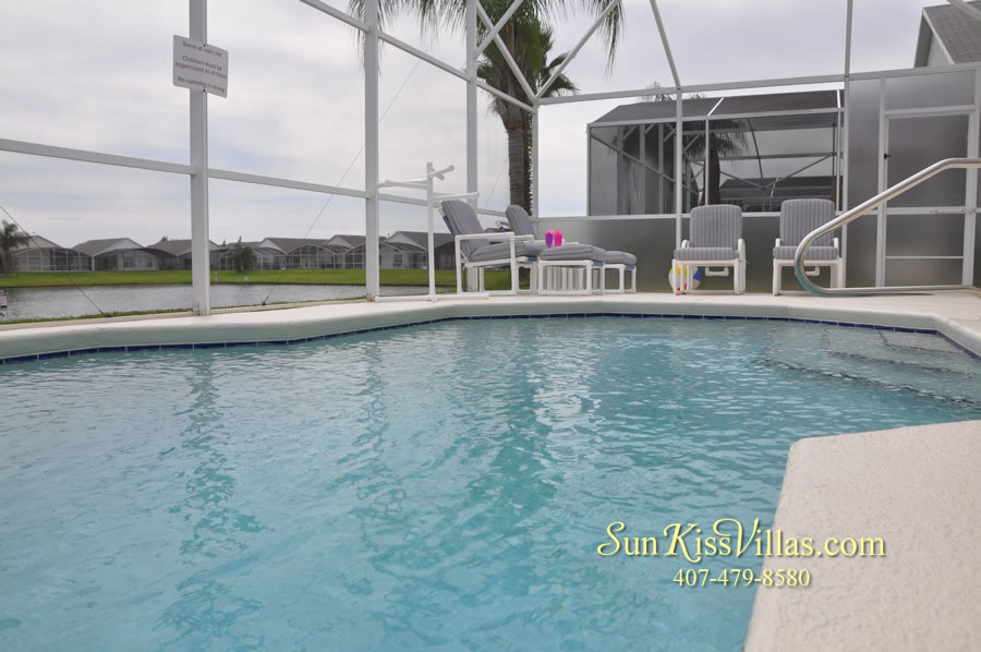 Orlando Vacation Rental - Palm Lake - Pool