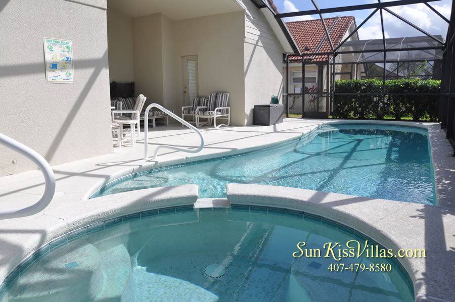 Orlando Disney Vacation Rental Solana - Pelican Point - Pool and Spa