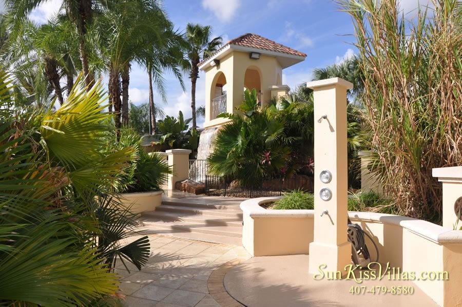 Regal Palms Resort Water Park Showers